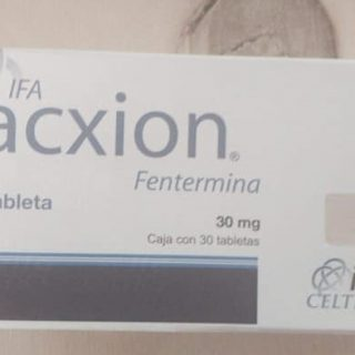 Buy Acxion Fentermina 30mg Online Name: Acxion Fentermina Generic Name: Fentermina Dosage: 30mg Packaging: 30 Tablets per pack